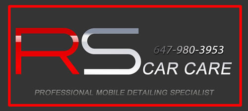 RS CAR CARE LOGO